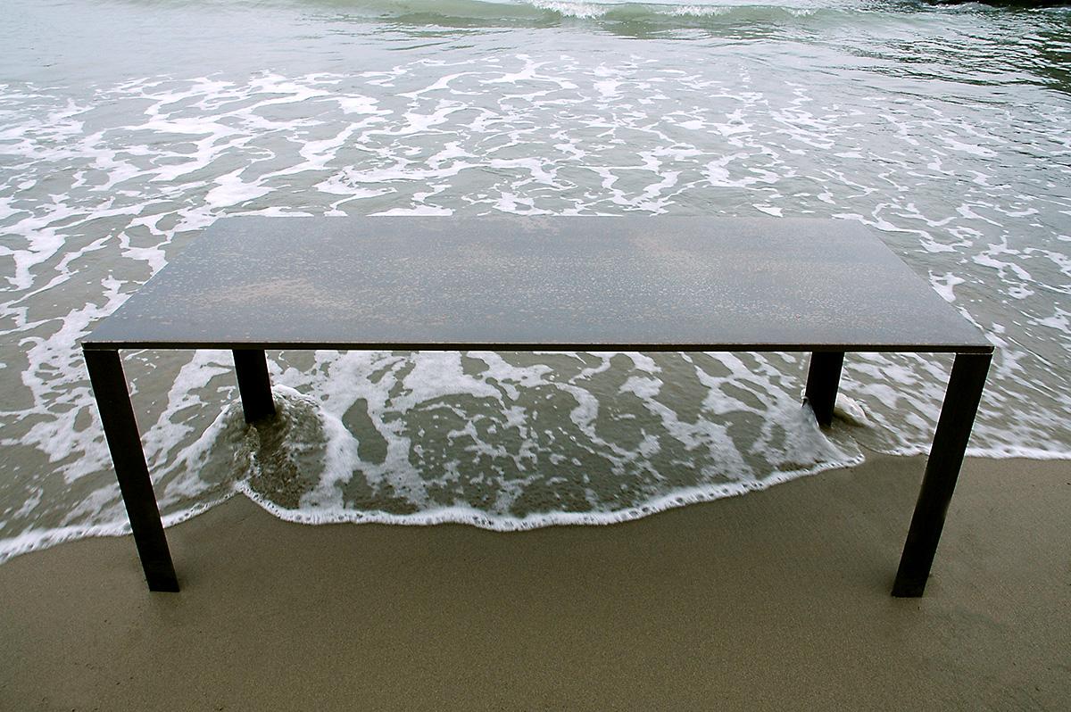 Tavolo in ferro Venere - Gabriele Simei